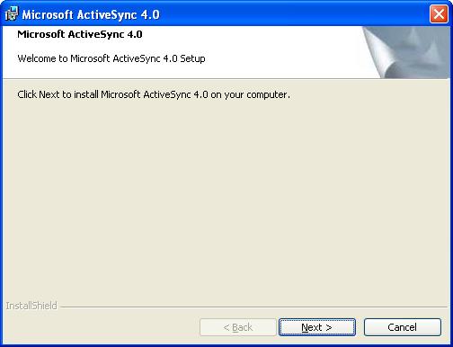 Скачать Activesync для Windows XP