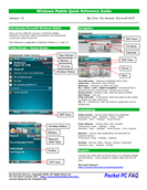Windows Mobile Quick Reference Guide V2.0
